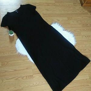 Eileen fisher black dress